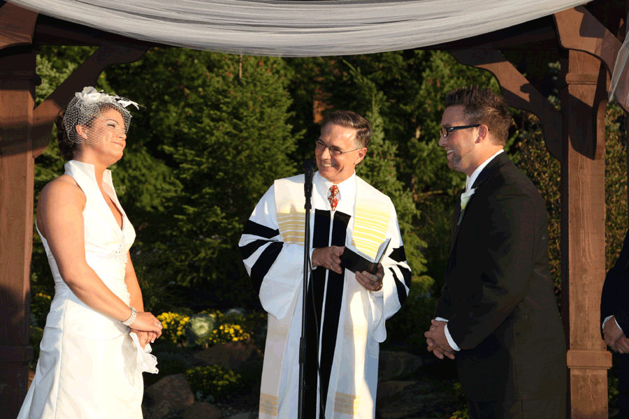 Wedding Ceremony with Reverend Glenn Woertz